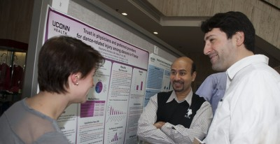 A poster session was held during Student Research Awards Day.