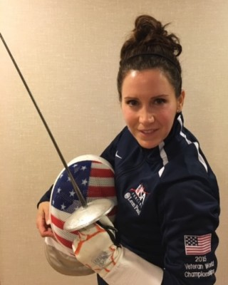 Bonnie Hennig in her national team uniform (Photo by Madison Hennig)