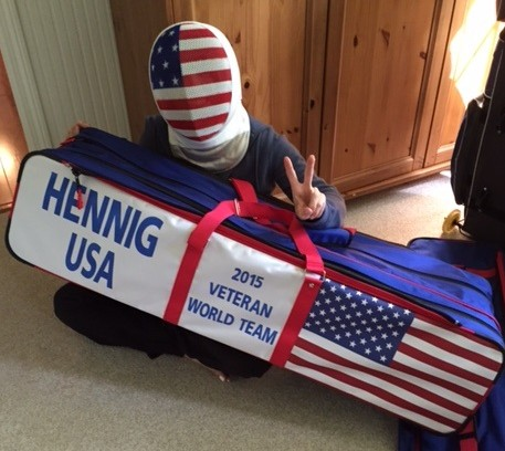 Bonnie Hennig is gearing up for the Veterans Fencing World Championships in France.