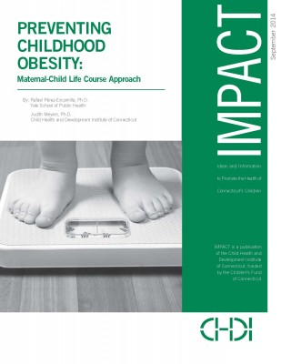 CHDI's report on preventing early-childhood obesity. (Click image to view report.)