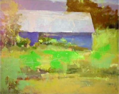 """John Lo Presti's """"Composing the rectangle"""" exhibition is at UConn Health Dec. 7 through March 3."""