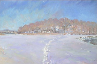 """Charles Reyburn's exhibition """"The Seasons"""" is at UConn Health Dec. 10 through Feb. 29."""