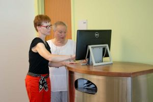 Patient information kiosk