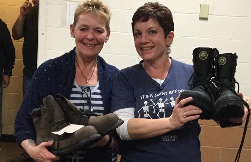 UConn Health Providers Continue 'Our Hearts to Your Soles' Tradition
