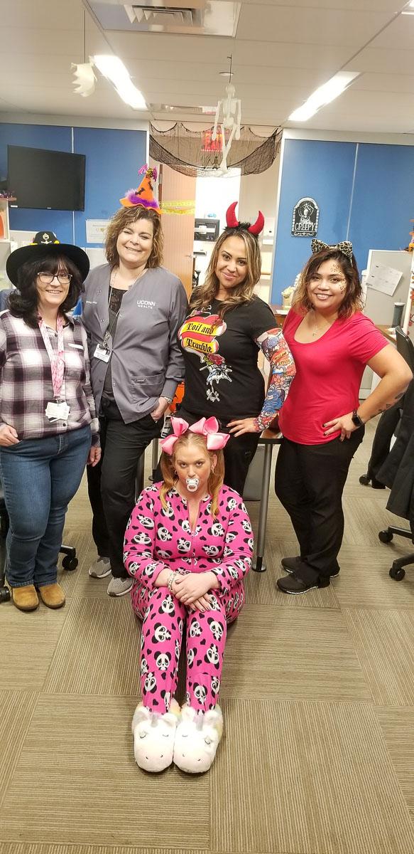 costumed group portrait