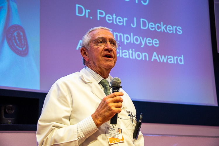 Dr. Peter Deckers introduces the award and its meaning.