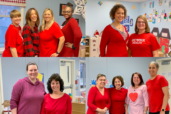 Creative Child Center Go Red