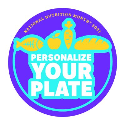 National Nutrition Month 2021 logo
